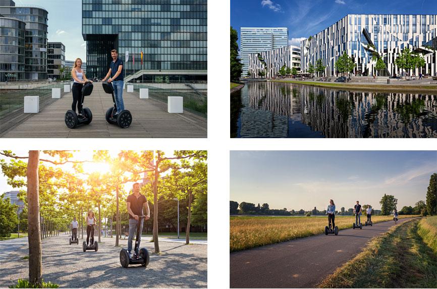 Düsseldorf: City- und Rhein-Tour XXL